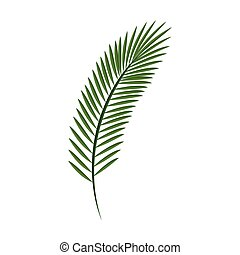 hello summer green palm leaf transparent green palm leaves template