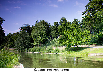 green park in Muester germany