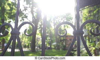 Green park sun garden