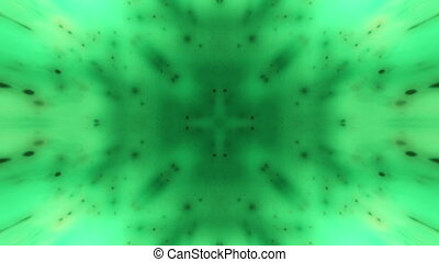 Green particle abstraction animated looping backdrop -...