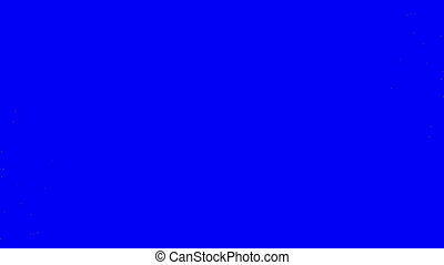 Green Particle Wipe blue screen - Green Particle Wipe on...