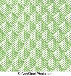 Green pattern, seamless - Green floral pattern - a seamless...