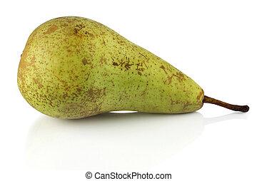 Green pear.