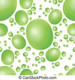 green peas seamless pattern