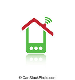 Green phone house
