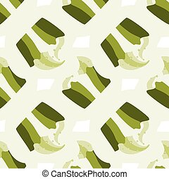 Green pistachio ice cream, cake or frozen yogurt seamless background