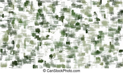Green pixel camouflage background - Abstract camouflage...