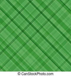 Green plaid - An illustration of a green plaid pattern
