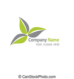 Green Plant abstract icon