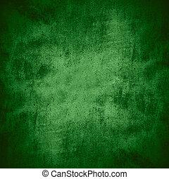 green plaster background