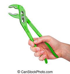 Green pliers