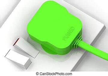 Green Plug Concept