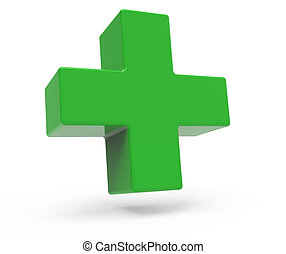 green plus sign