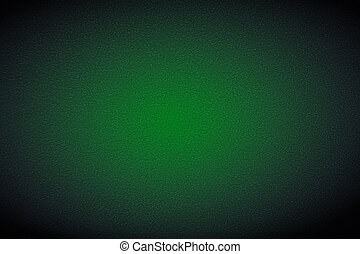 Green Poker table background. Copy space for your text or images. Gambling entertainment. Top view, close-up.