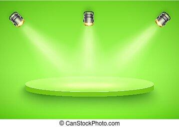 Green Presentation platform