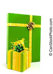 Green presents