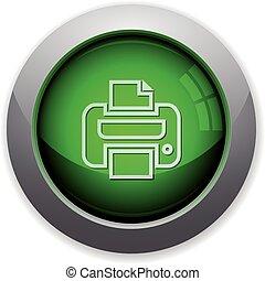 Green print button
