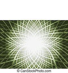 Green radial paths