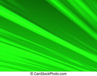 An Illustration of a green, radiant sky.