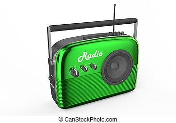 green radio