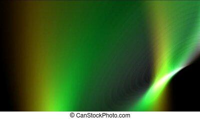 green ray light,smooth silk,energy