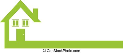 Green Real Estate Logo Template