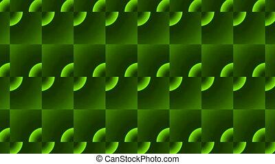 green rectangle flooring bricks
