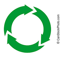 recycle icon - green recycle icon