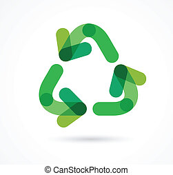 recycling icon and symbol
