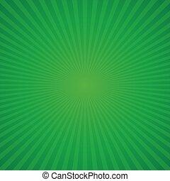 Green retro background for St. Patricks Day