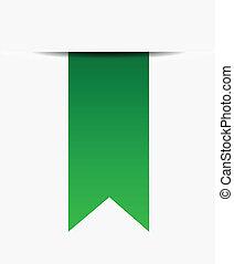 Green ribbon promotional