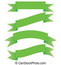 Green ribbon set.