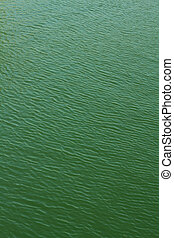 Green ripple water background