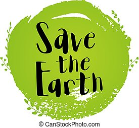 Ecological concept for Earth day