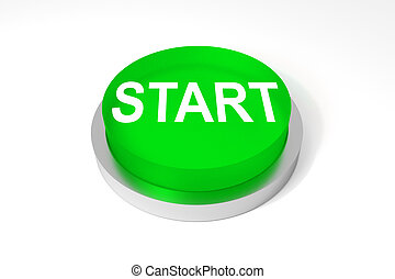 green round button start