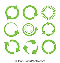 Green round recycle