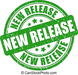 Green rubber stamp new release