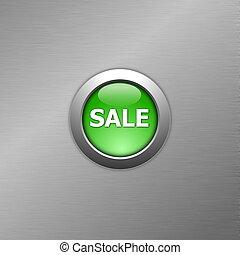 green sale button