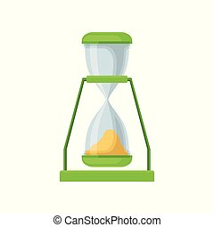 Green sand hourglass, sandglass device for measuring time...