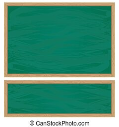 green school chalkboard
