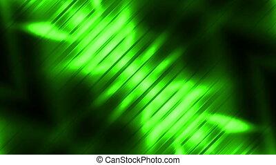Green Sci-Fi VJ Loop Abstract - Green Sci-Fi VJ Looping...