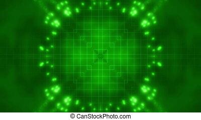 Green Science Fiction Loop