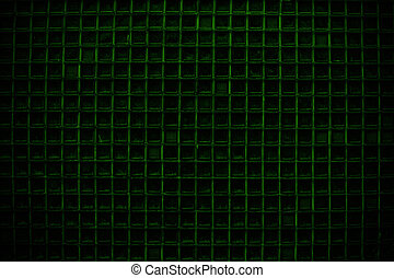 Green Screen door detail pattern background or texture