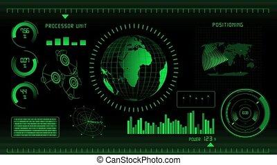Green screen interface