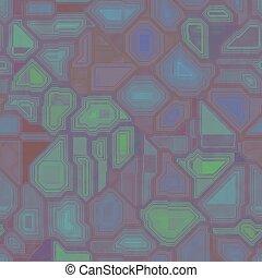 Green seamless circuit board