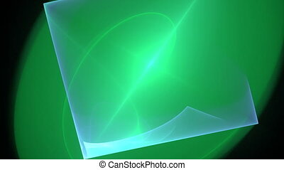green seamless looping background