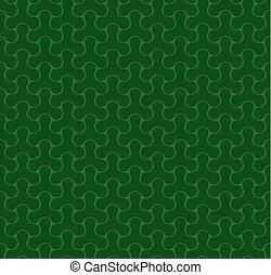 Green Seamless Web Geometric  Pattern.