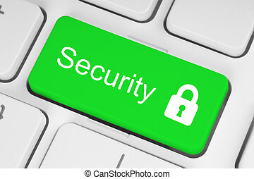 Green security button