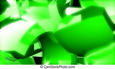 Green semicircles