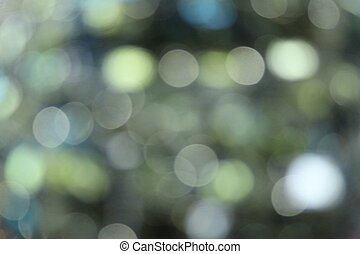 Green Sequin Blur